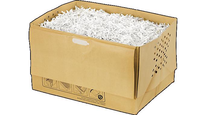 Swingline® 9 Gallon Recyclable Paper Shredder Bags (1765031) - Shredding Supplies