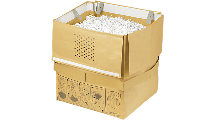 Swingline® 31 Gallon Recyclable Paper Shredder Bags (1765032) - Shredding Supplies
