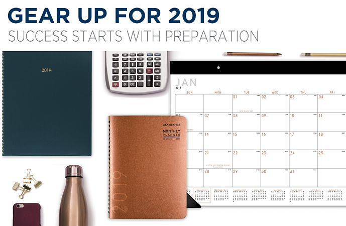 Gear up for 2019 success starts with preparation