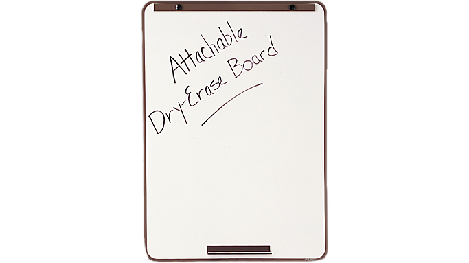 Quartet® Attachable Whiteboard for Steel Tripod Display Easel (21E-7) - Flip Charts & Easels