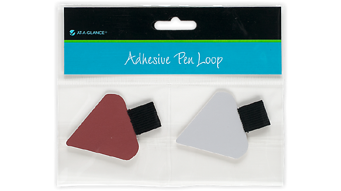 At-A-Glance® Adhesive Pen Loop - Triangular (238-01) - Planner Accessories