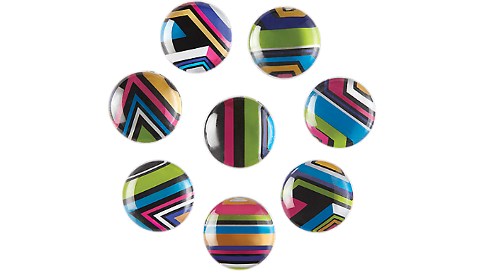 Quartet® 1 Multicolor Magnets, 8 pack (27953-BW) - Dry-Erase Accessories