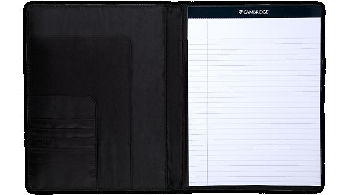 Mead® Cambridge® Faux Leather Padfolio (33928) - Padfolios
