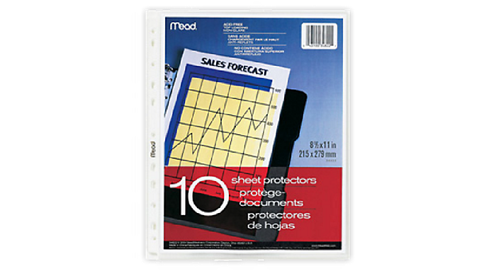 Mead® Sheet Protectors (34822) - Planner Accessories