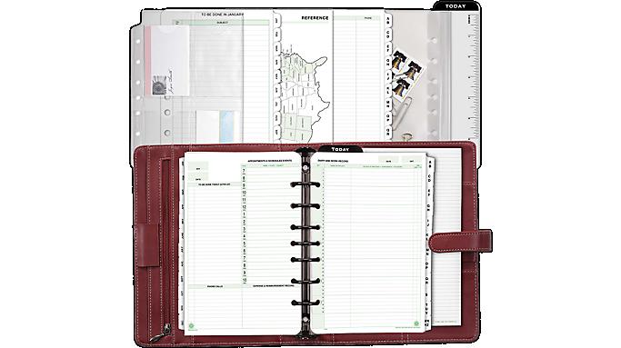Day-Timer® Soft-Flex Starter Set, Desk Size (44317) - Planner Sets