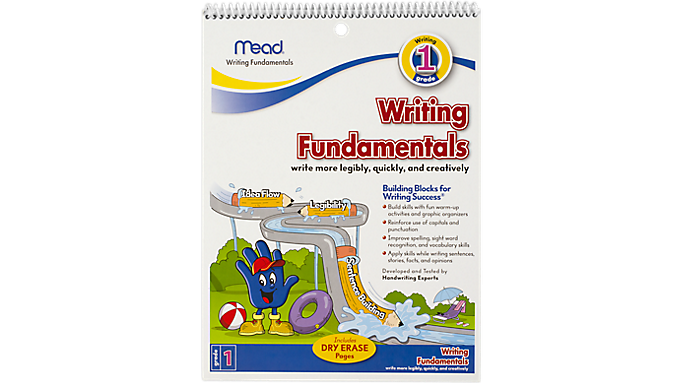 Mead® Writing Fundamentals Workbook Grade 1 (48064) - Early Learning
