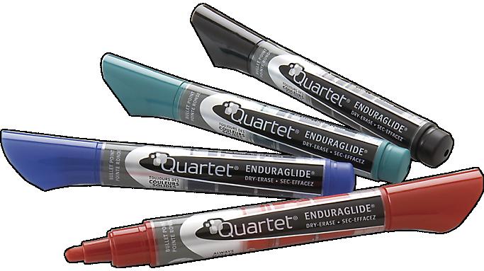 Quartet® EnduraGlide? Dry-Erase Markers, Bullet Tip (5001-1MA) - Dry-Erase Markers