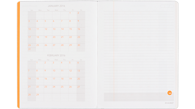 Take Offer At-A-Glance 2016 Perfect Bound Planning Notebook – Large (706126 16) – Planning Notebooks Before Special Offer Ends