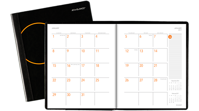 Special Offer At-A-Glance 2017 Plan. Write. Remember. Monthly Planner & Notebook (706206 17) – Planners Before Special Offer Ends
