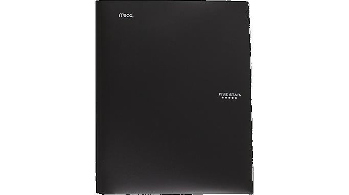 Five Star® Stay-Put Folder w/ Prongs (34030) - Pocket And Prong Folders
