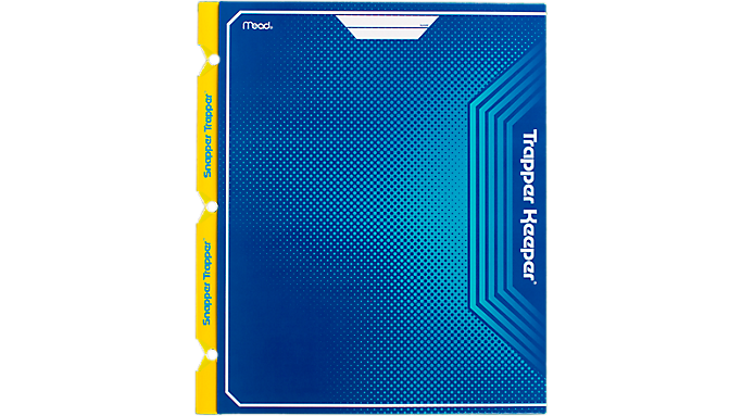 Trapper Keeper® 2-Pocket & Prong Folder (33092) - Trapper Keeper
