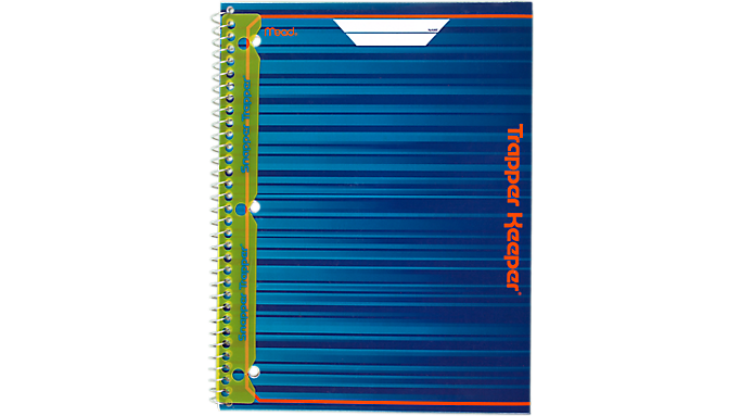 Trapper Keeper® 1 Subject Notebook (04002) - Trapper Keeper