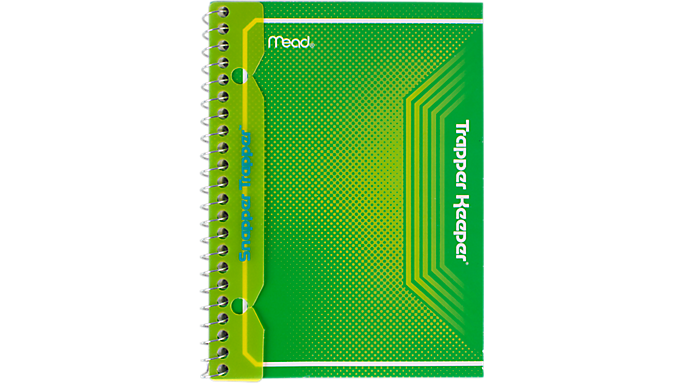 Trapper Keeper® Small 1 Subject Notebook (45038) - Trapper Keeper