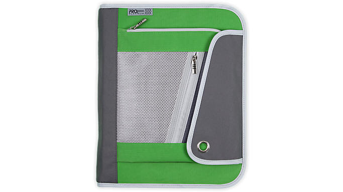Mead® PRO® Platinum 1 1/2 Zipper Binder (29588) - Zipper Binders