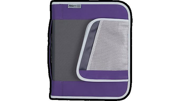 Mead® PRO® Platinum 1 1/2 Zipper Binder with Handle (29038) - Zipper Binders