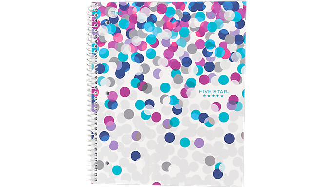 Five Star® Style Wirebound Notebook - 1 Subject (06348) - Five Star Notebooks