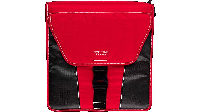 Five Star® 2 Vertical Flip Zipper Binder (29086) - Zipper Binders
