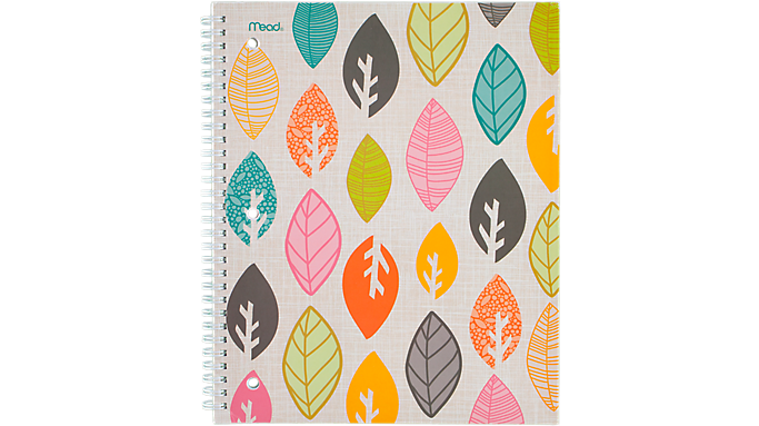 Mead® Botanical Boutique™ Notebook (07154) - Mead Notebooks
