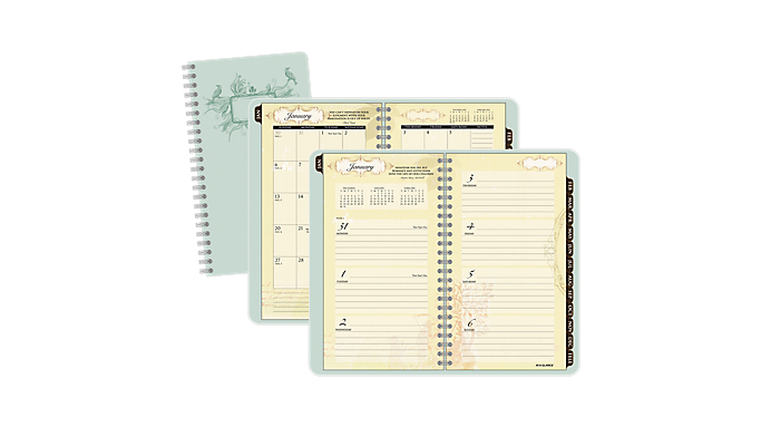 At-A-Glance® 2016 Poetica Weekly/Monthly Pocket Planner (772-300 16) - Weekly - Monthly Planners