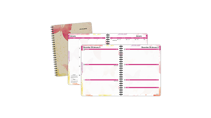 At-A-Glance® 2016 Watercolors Weekly/Monthly Planner (791-905G 16) - Weekly - Monthly Planners