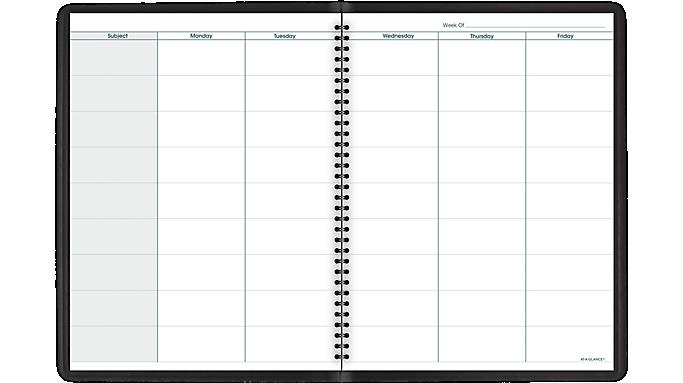 At-A-Glance® Teachers Planner (80155) - Teacher Planners