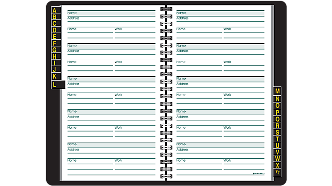 At-A-Glance® Large Print Telephone/Address Book (80LP11) - Inactive At-A-Glance Products