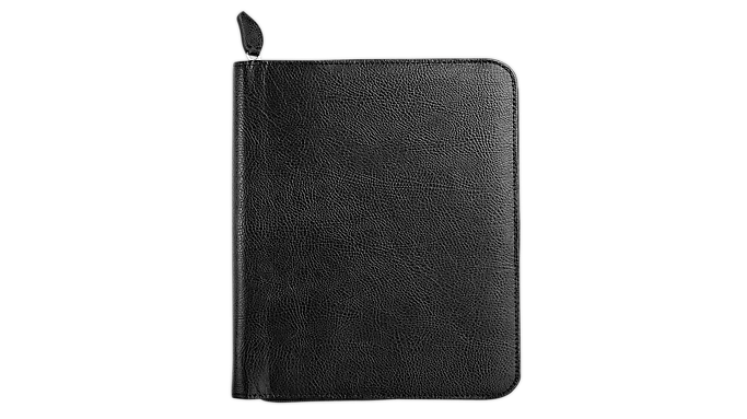 Day-Timer Biscayne Bonded Leather Zippered Planner Cover Notebook Size (8290) - Planner Covers