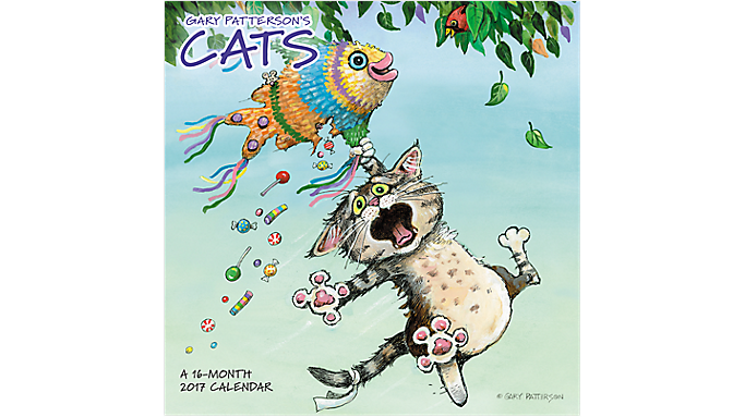 Day Dream 2017 Gary Patterson's Cats Wall Calendar (DDD550 17) - Decorative Calendars DDD5502817