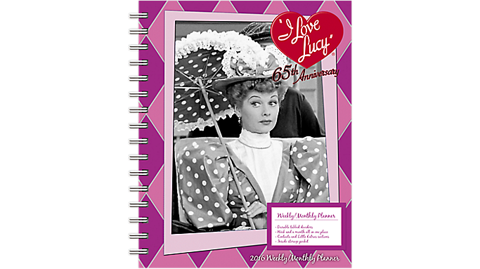 Day Dream® 2016 I Love Lucy® Weekly/Monthly Planner (DDEN07 16) - Weekly - Monthly Planners