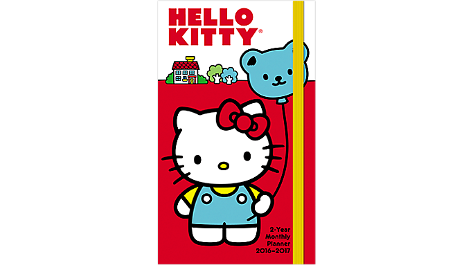 Day Dream® 2016 Hello Kitty® 2 Year Pocket Planner (DDPP11 16) - Multi-Year Planners