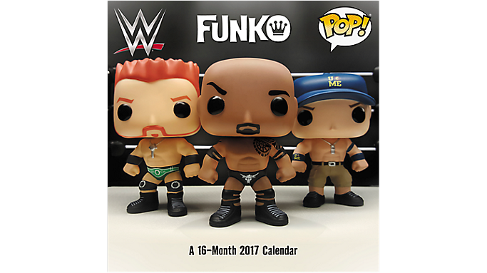 Day Dream 2017 FUNKO - WWE Wall Calendar (DDW118 17) - Decorative Calendars DDW1182817