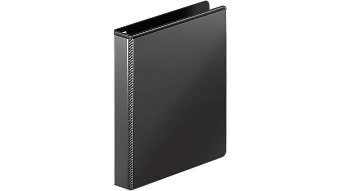 Mead® Durable 1 D-Ring View Binder (M385-14) - Ring Binders
