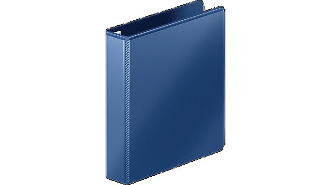 Mead® Durable 1.5 D-Ring View Binder (M385-34) - Ring Binders