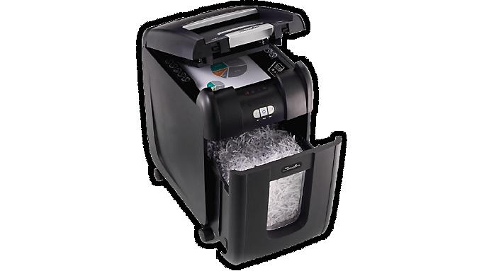 Swingline® Stack-and-Shred™ 200X Hands Free Shredder - Refurbished (R1757573) - Personal Shredders