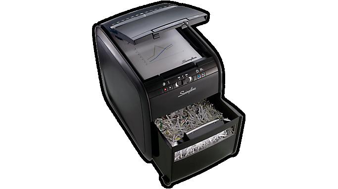 Swingline® Stack-and-Shred™ 80X Auto Feed Shredder - Refurbished (R1757574) - Personal Shredders