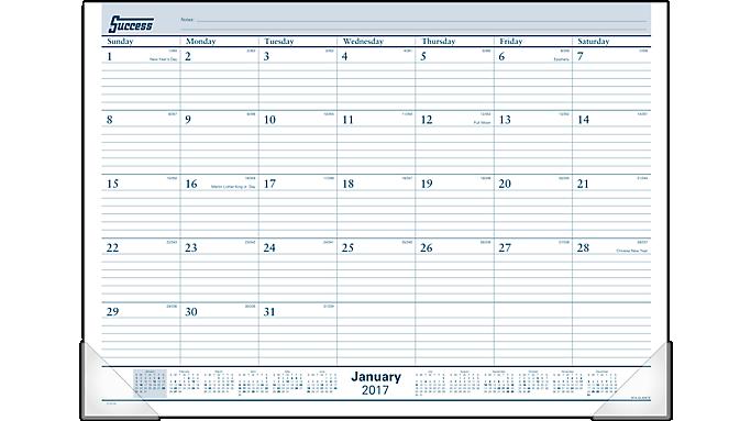 upc 038576259270 at a glance r monthly desk pad calendar 21 3