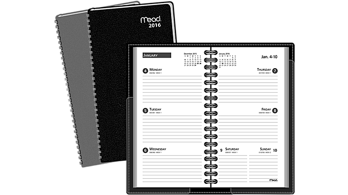 Mead® 2016 Weekly Pocket Planner (TL2045 16) - Pocket Planners