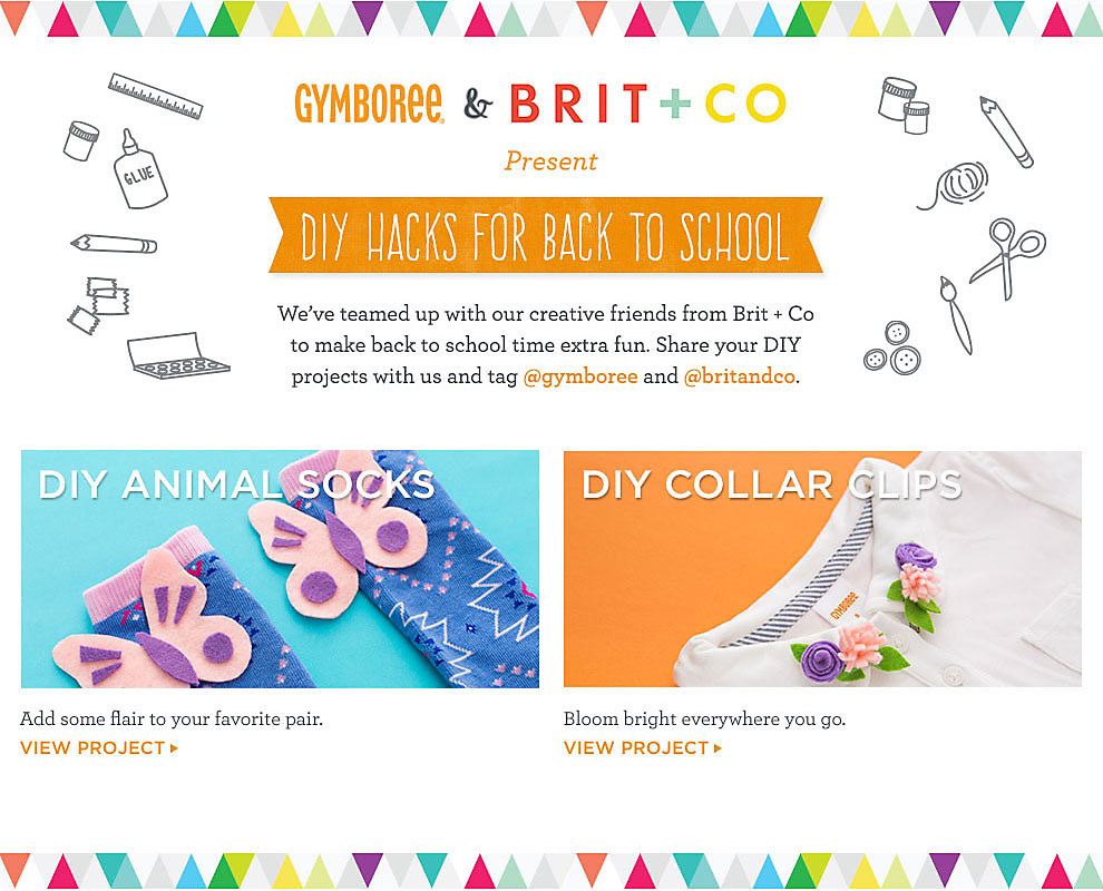 Gymboree & Brit + Co
