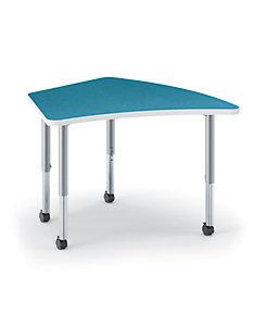 HON Build Kite-Shaped Table Blue Agave HESA-2440E-4L.N.LBA1.K.T1