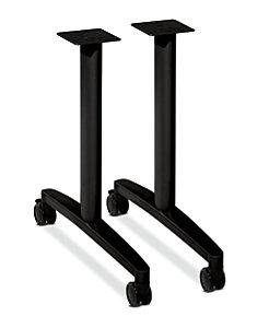 HON Huddle Table Base Kit Legs Black HMBTLEG24.C.P