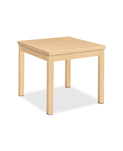 HON Laminate Occasional 80000 Series Corner Table Natural Maple Color H80192.DD