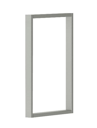 HON Voi O-Leg Cabinet Support White HLSL65OS.T1