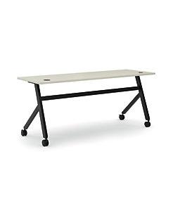 basyx Multi Purpose Fixed Base Table Light Gray HBMPT7224X.QZ