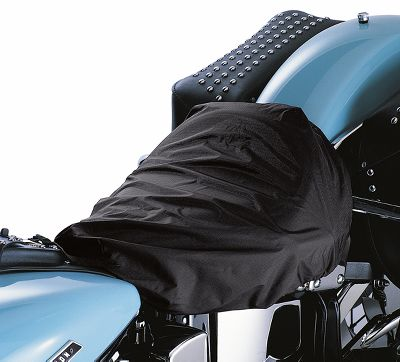 solo seat rain cover motorcycle covers official harley davidson online store. Black Bedroom Furniture Sets. Home Design Ideas