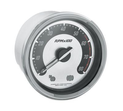 spun aluminum face tachometer speedometers   tachometers