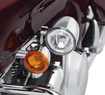 road glide led fog lamp mount kit chrome | 2016 road