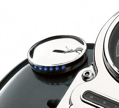 smooth led fuel gauge fuel gauges official harley. Black Bedroom Furniture Sets. Home Design Ideas