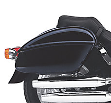 Color-Matched Hard Saddlebags