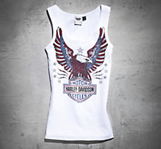 Embellished Eagle Tank