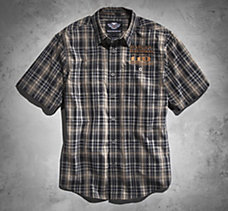 110th Short-Sleeve Plaid Shirt
